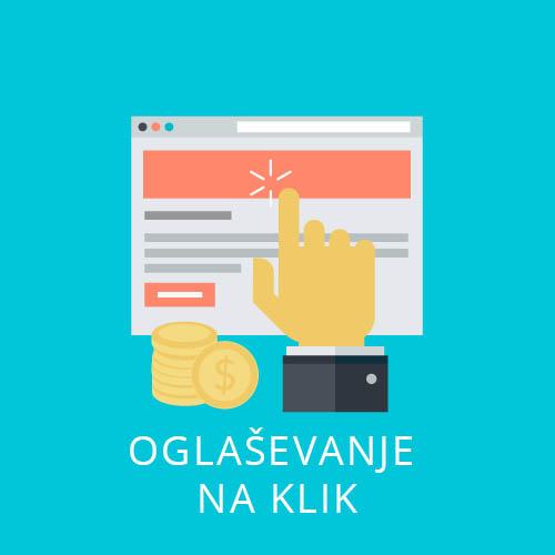 oglaševanje na klik
